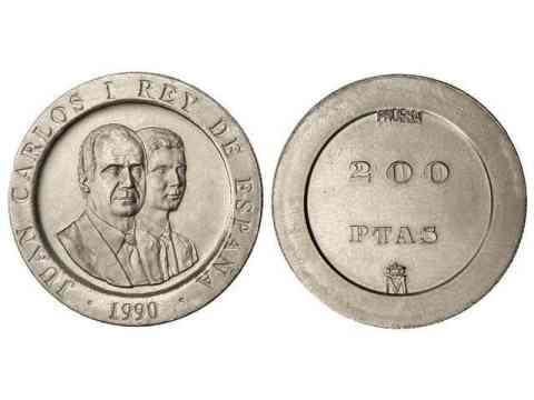Prueba 200 pesetas 1990