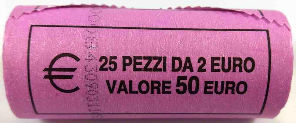 Rollo Italia 2011 2 Euros Conmemorativos Unificacióna