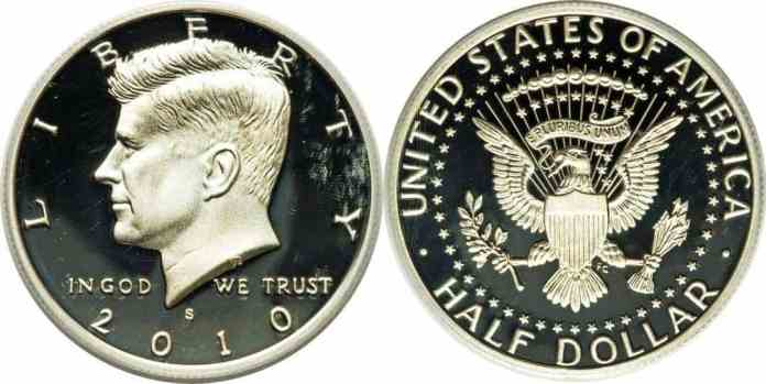 EEUU 50 Centavos de Dólar 2010 Proof