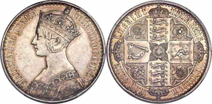 Gothic Crown 1847
