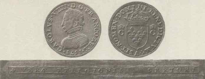 Piedfort Francia 1573