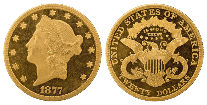 Double Eagle Liberty Head 1907