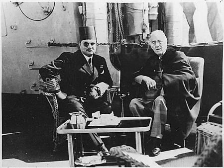 El Rey Farouk y FDR