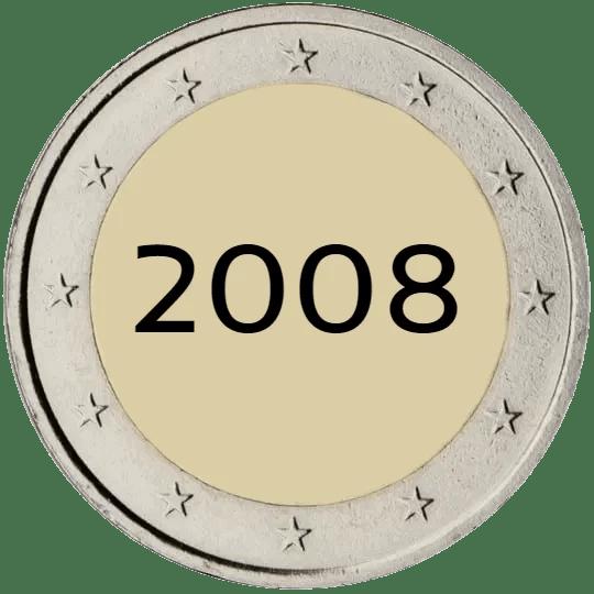 Lista de Monedas Conmemorativas de 2 Euros de 2008