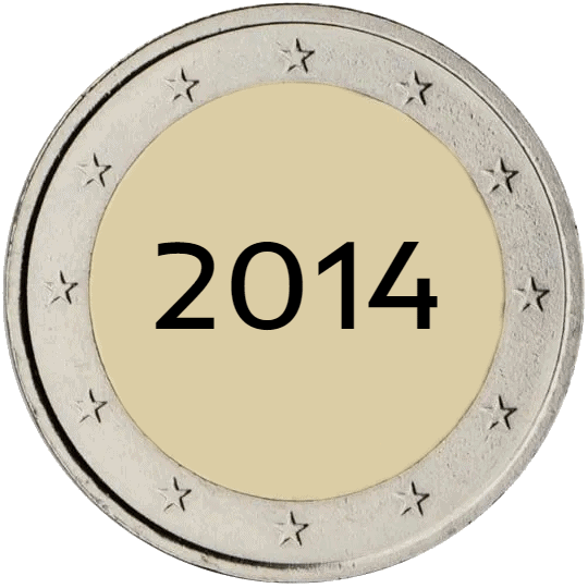 Lista de Monedas Conmemorativas de 2 Euros de 2014