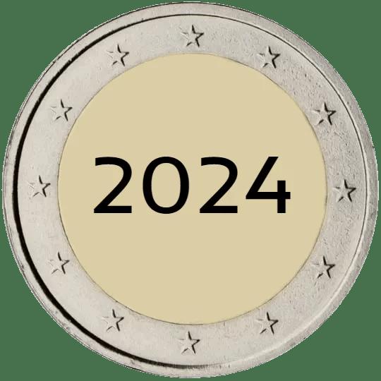 Lista de Monedas Conmemorativas de 2 Euros de 2024