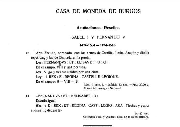 El Duro Acuñaciones y Resellos Burgos