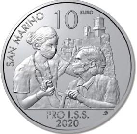San Marino 10 Euros 2020
