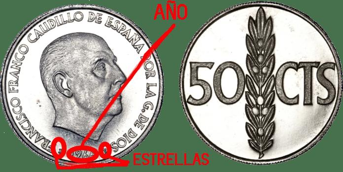 50 Céntimos 1966