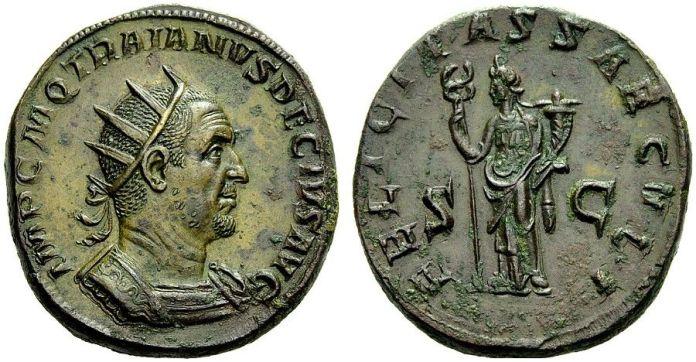 Doble Sestercio de Trajano