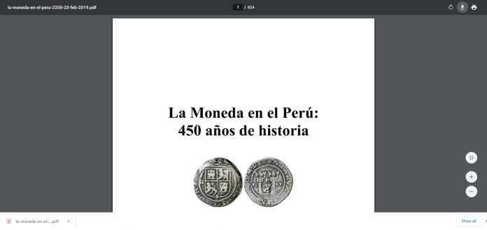 moneda perú chorme descarga