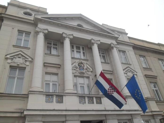 Palacio del Parlamento de Croacia en Zagreb