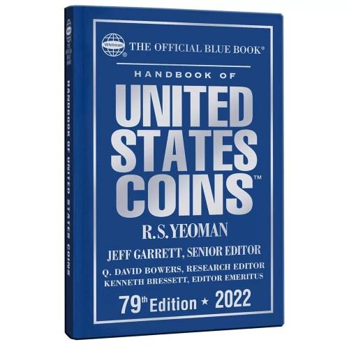 Blue Book US Coins Tapa Dura