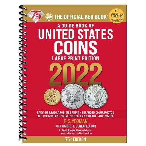 Red Book US Coins Letra Grande