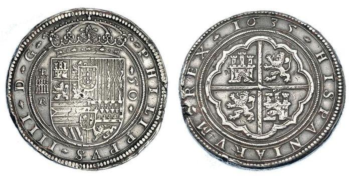 Cincuentín Segovia 1635