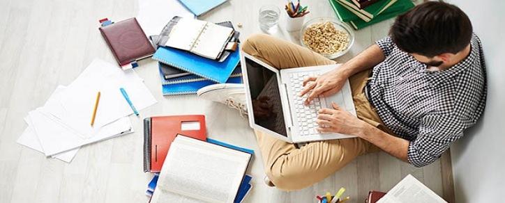 como estudar em casa para concurso publico