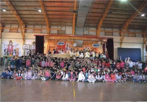 14 DIOCESIS DE RIO GALLEGOS Encuentro de niños fueguinos en Rio Grande. Prov. de Tierra del Fuego.