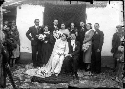 Nuntași, 28 februarie 1937. Masca de hîrtie neagră îndepărtată