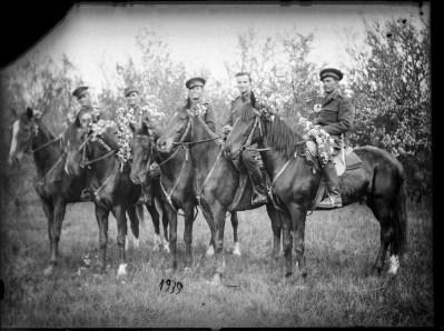 Militari călare, 1939