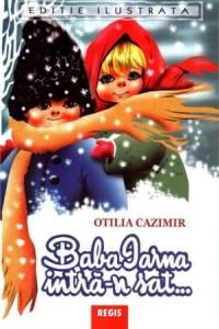Carti de craciun Baba iarna intră-n sat