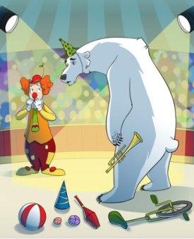 Fram, ursul polar-rezumat
