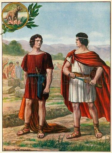 Legenda lui romulus si remus rezumat întemeierea romei