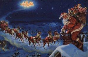 Magia Crăciunului compunere mos Crăciun