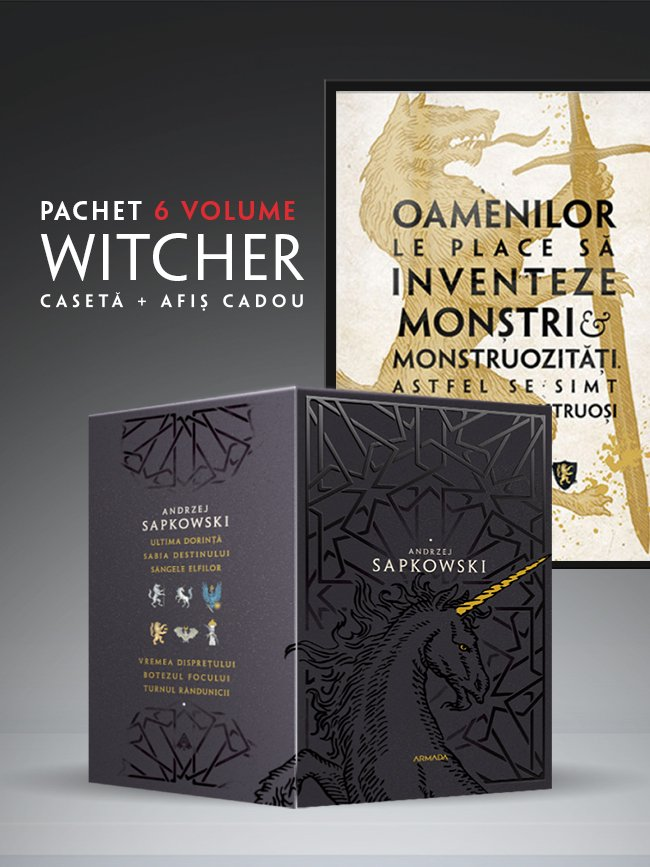 The witcher pachet carti