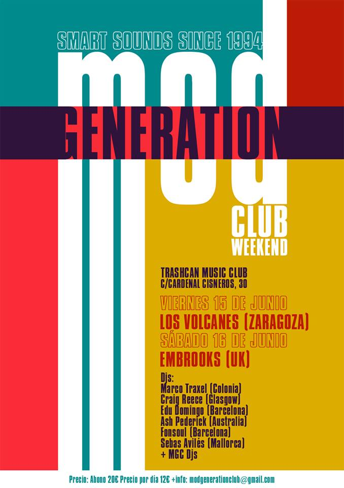 Mod Generation Club Weekend