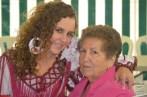 Lucía Robles y su abuela (Feria 2012)