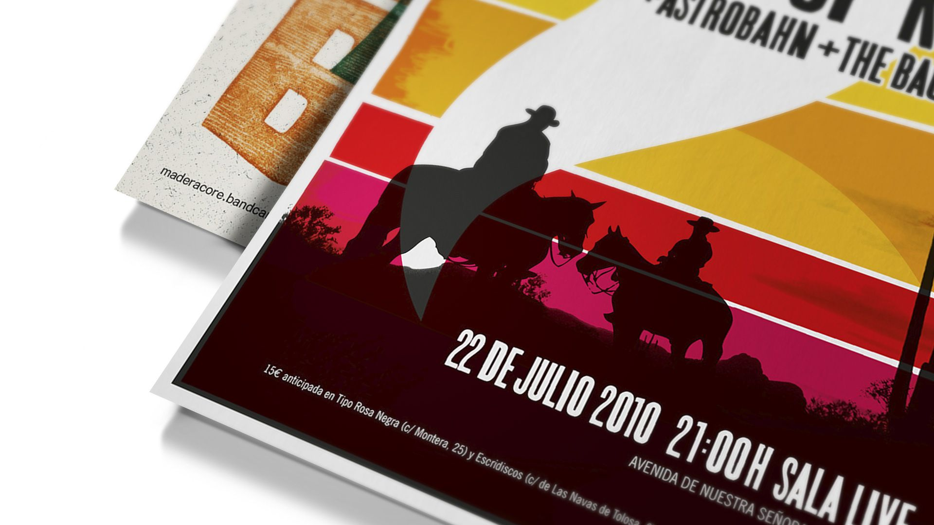Carteles de conciertos © Colectivo Melón