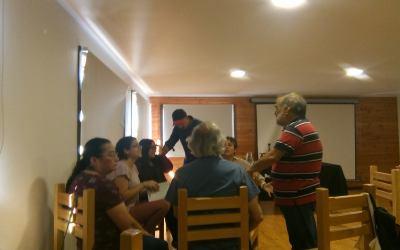 Jornada en Curaco de Vélez