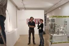 Montaje sala de exposiciones del Museu d'Art de Sabadell