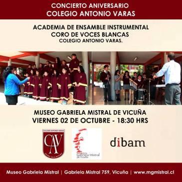 Concierto del Coro de Voces Blancas y Ensamble Instrumental