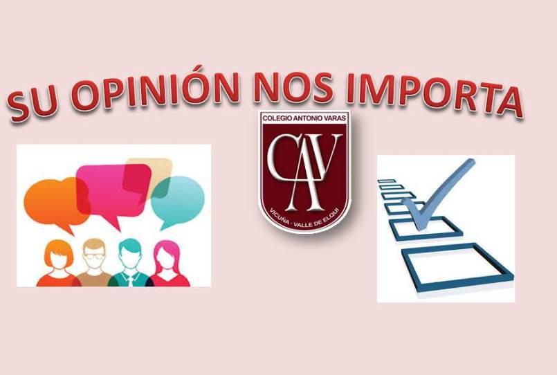 ENCUESTA ESTUDIANTES, PADRES Y APODERADOS, COMUNIDAD EN GENERAL