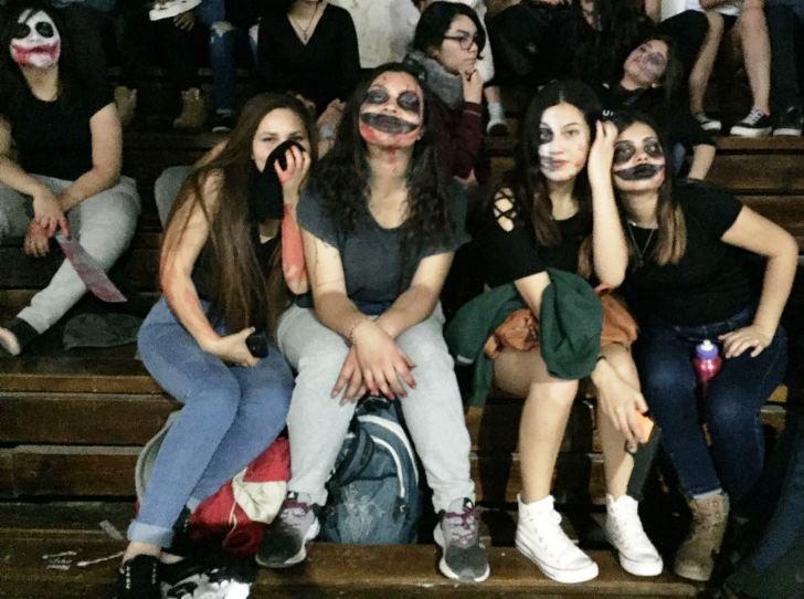 Estudiantes Varistas  participan  en actividades de aniversario del Injuv