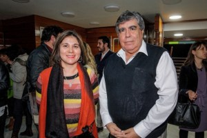 Profesora Gloria Barrientos y Don Julián González