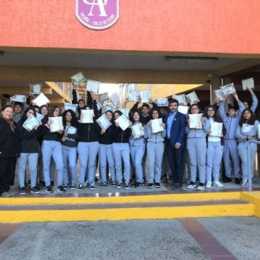 Colegio Antonio Varas hace la entrega  de Útiles Escolares a sus Alumnos