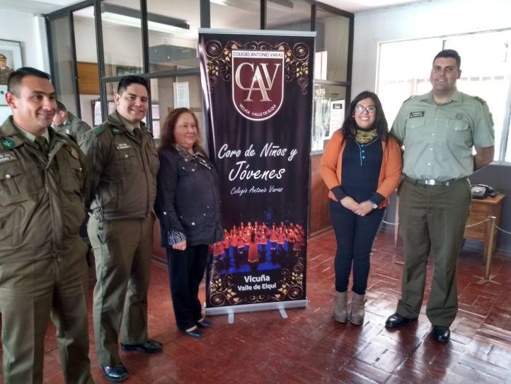 Comunidad Varista Saluda a Carabineros en su Aniversario Institucional