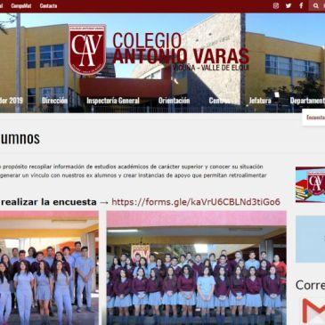 """Crean  Sección   Especial  para  """"Ex Alumnos"""" en Sitio Web Institucional"""