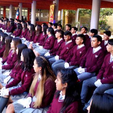 Realizan Emotiva Ceremonia de Licenciatura de Cuartos Años Medios