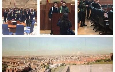 Los alumnos del Colegio Caude, futuros ciudadanos responsables