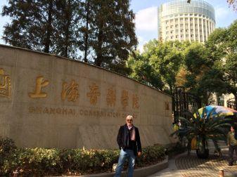 Andrés Posada, Conservatorio de Música de Shanghái. Noviembre 2014