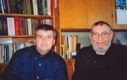 Boris Alvarado (Chile) Veljo Tormis (Estonia). Tallinn, Estonia