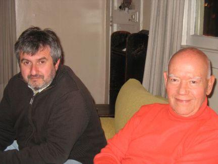Boris Alvarado (Chile) y Alfredo del Mónaco (Venezuela) Festival Internacional de Música Contemporanea Darwin Vargas IMUS-Chile