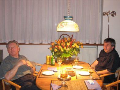 Boris Alvarado (Chile) y Zygmunt Krauze (Polonia)