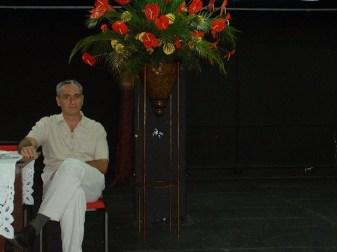 Carlos Vázquez, Presidente del Foro de Compositores del Caribe; Panamá, 2003