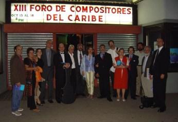 XIII Foro de Compositores del Caribe, Teatro Balboa. Panamá