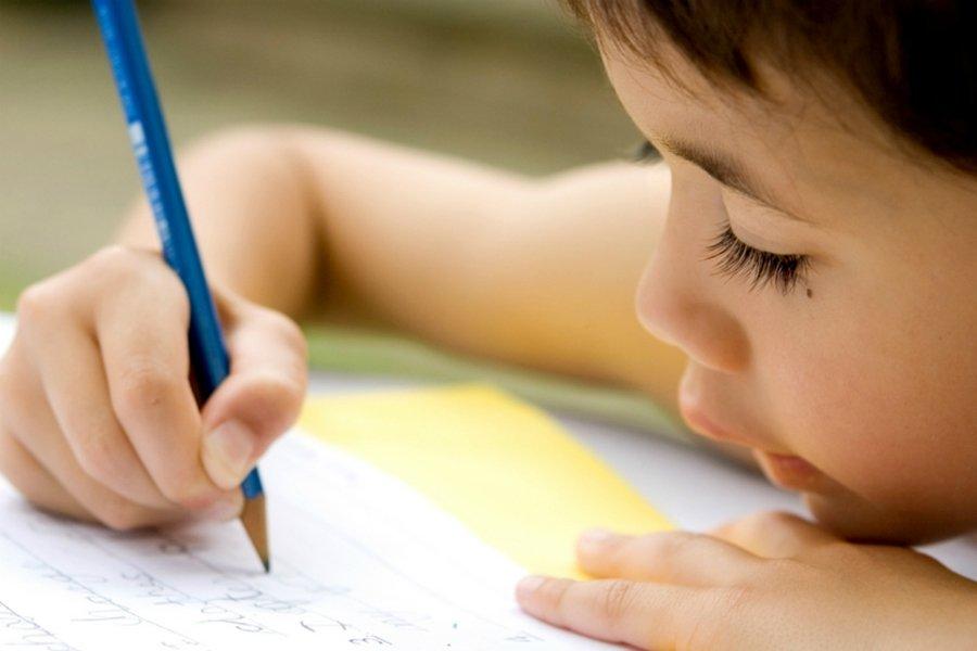 ¿Por qué escribe mi hijo mal?
