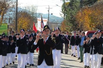 Deslumbrante fue la participación de nuestro colegio en desfile del 21 de mayo